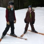 DL Student at the Summit Ski Hill lessons